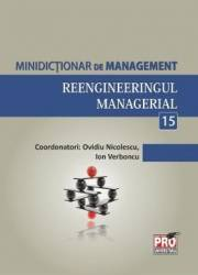 Minidictionar De Management 15 Reengineeringul Managerial - Ovidiu Nicolescu
