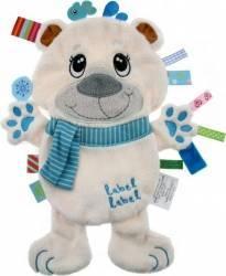 Minipaturica senzoriala Label Label Friends - Urs Polar Lenjerii si accesorii patut