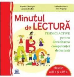 Minutul De Lectura Cls 3 Si 4 - Roxana Gheorghe Stefan Pacearca