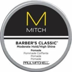 Crema de par Paul Mitchell Mitch Barbers Classic Pomade Crema, ceara, glossuri