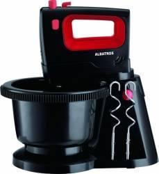 Mixer cu bol rotativ Albatros MXA300B 300W 5 viteze Functie Turbo Negru