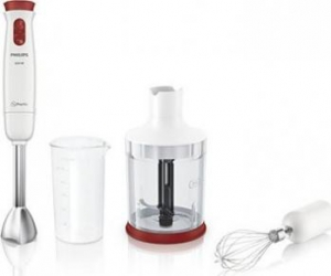 Mixer vertical Philips Daily Collection HR162700 Bonus Cojitoare multifunctionala Triple Slicer + Burete de vase Spontex