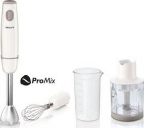 Mixer vertical Philips HR1607 550W 1 viteza Lame inox Alb