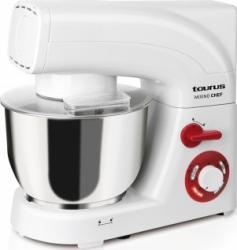 Mixer cu bol Taurus Mixing Chef 1200W 6 viteze + Turbo Alb Mixere