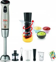 Mixer vertical Tefal InfinyForce HB866A38 700W 20 viteze + Turbo Argintiu