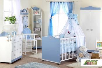 Mobilier Camera Copii Si Bebelusi KLUPS PRINCE Patut bebe,tarcuri si saltele