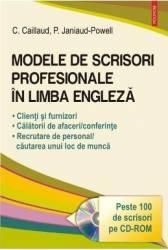 Modele de scrisori profesionale in limba engleza - C. Caillaud P. Janiaud-Powell