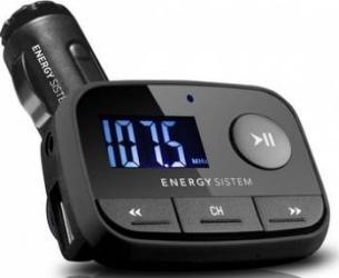Modulator auto FM Energy Sistem F2 Black Knight Player Auto