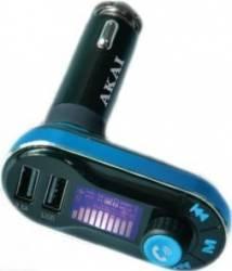 Modulator Fm Akai Auto Bluetooth Charger Fmt-66b