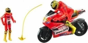 Mondo Motors Motocicleta Ducati Valentino Rossi cu lansator Machete