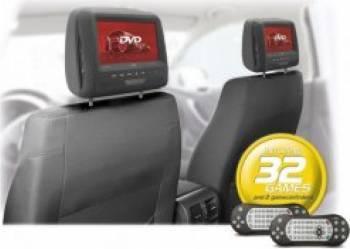 Monitor Caliber MHM273T tetiere cu DVD 7inch 32 jocuri incluse Monitoare auto