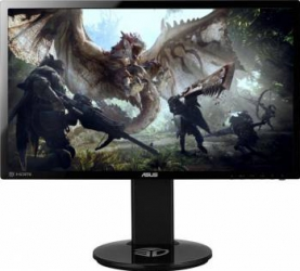 Monitor Gaming LED 24 Asus VG248QE Full HD 144Hz 1ms Negru Monitoare LCD LED