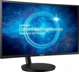 Monitor Gaming LED 27 Samsung C27FG70FQU Quantum Dot Curbat 1 ms Black FreeSync 144Hz Monitoare LCD LED