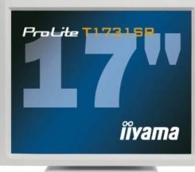 imagine Monitor LED 17 Iiyama Pro Lite T1731SR Touch Screen Alb pl t1731sr-w1