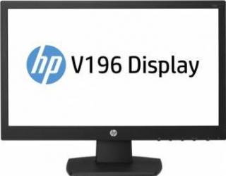 Monitor LED 18.5 HP V196 WXGA 5ms Negru