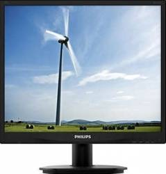 Monitor LED 19 Philips 19S4QAB SXGA Black Monitoare LCD LED