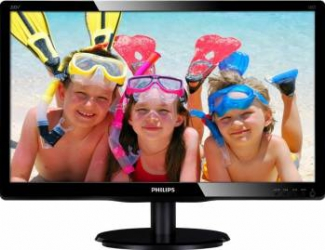 Monitor LED 19.5 Philips 200V4LAB/00 HD+ 5 ms Negru Monitoare LCD LED