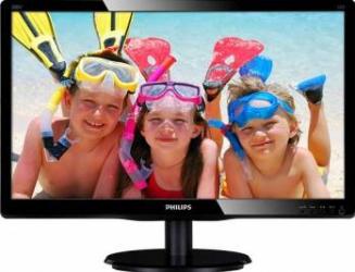 Monitor LED 19.5 Philips 200V4QSBR Full HD 8ms GTG Negru