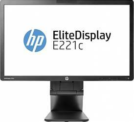imagine Monitor LED 21.5 HP EliteDisplay E221C Full HD 7ms GTG Negru d9e49aa#abb