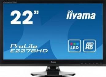 imagine Monitor LED 21.5 Iiyama ProLite E2278HD Full HD e2278hd-gb1