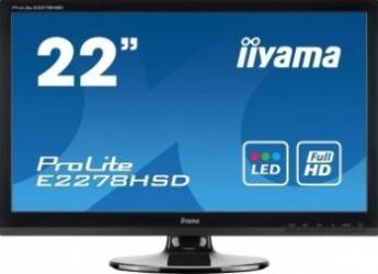 imagine Monitor LED 21.5 Iiyama ProLite E2278HSD Full HD e2278hsd-gb1