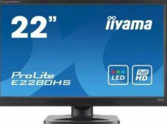 Monitor LED 21.5 Iiyama ProLite E2280HS 5ms Full HD Monitoare LCD LED