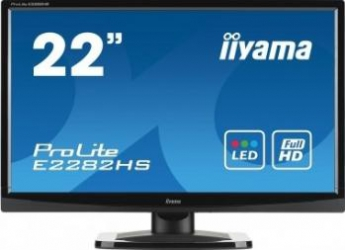 imagine Monitor LED 21.5 Iiyama ProLite E2282HS Full HD e2282hs-gb1
