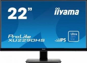 Monitor LED 21.5 Iiyama ProLite XU2290HS-B1 Full HD 5ms Negru