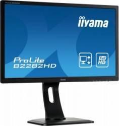 Monitor LED 21.5 Iiyama B2282HD-B1 Full HD 5 ms Negru Monitoare LCD LED