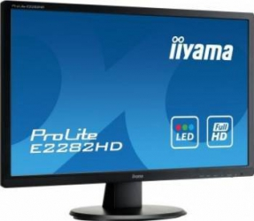 Monitor LED 21.5 Iiyama E2282HD-B1 Full HD 5 ms Negru Monitoare LCD LED