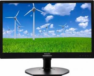 Monitor LED 21.5 Philips 221S6LCB Full HD 5 ms Negru Monitoare LCD LED