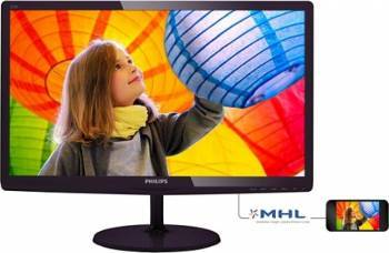 Monitor LED 21.5 Philips 227E6LDSD/00 Full HD 1 ms Negru Monitoare LCD LED
