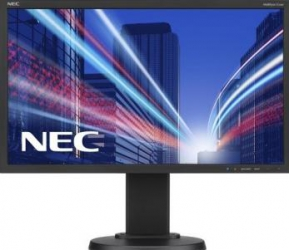 Monitor LED 21.5 Nec E224Wi Black Full HD Monitoare LCD LED