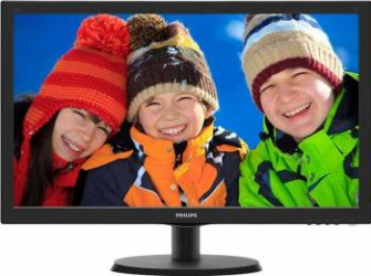 Monitor LED 21.5 Philips 223V5LHSB2 Full HD 5ms Negru HDMI Monitoare LCD LED