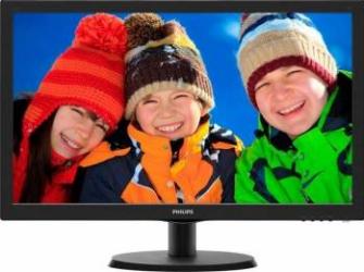 Monitor LED 21.5 Philips 223V5LSB2/62 Full HD 5ms Negru Monitoare LCD LED