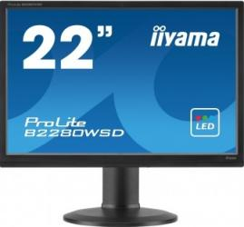 Monitor LED 22 iiyama ProLite B2280WSD-B1 WSXGA+ 5ms Monitoare LCD LED