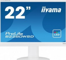 Monitor LED 22 iiyama ProLite B2280WSD-W1 WSXGA+ 5ms Monitoare LCD LED
