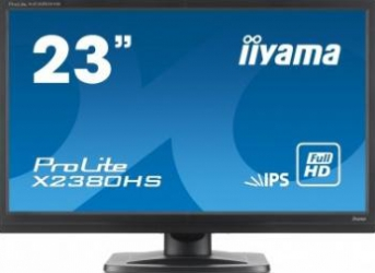 Monitor LED 23 iiyama Prolite X2380HS-B1 Full HD 5ms IPS Monitoare LCD LED