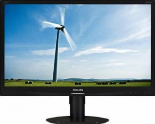 imagine Monitor LED 23 Philips 231S4QCB Full HD 14ms GTG Negru 231s4qcb/00