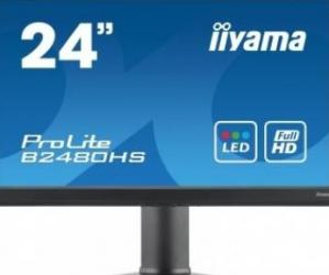 imagine Monitor LED 23.6 Iiyama ProLite B2480HS Full HD b2480hs-b1