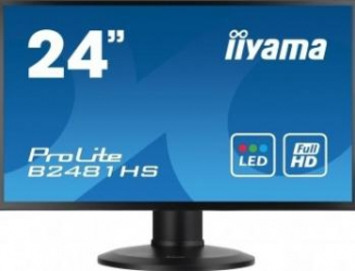 imagine Monitor LED 23.6 Iiyama ProLite B2481HS Full HD b2481hs-b1