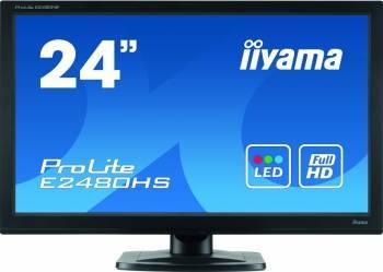 Monitor LED 23.6 Iiyama E2480HS-B2 FullHD 2ms Negru Monitoare LCD LED