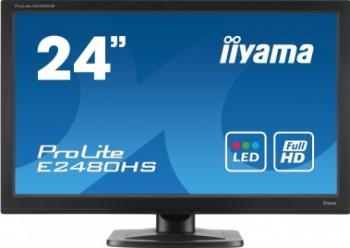 imagine Monitor LED 23.6 Iiyama Prolite E2480HS-B1 Full HD e2480hs-b1