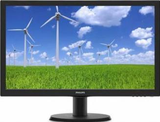 Monitor LED 23.6 Philips 243S5LSB500 Full HD 5ms Monitoare LCD LED