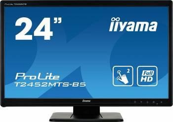Monitor LED 23.6 Touchscreen Iiyama T2452MTS-B5 Full HD 2ms Monitoare LCD LED