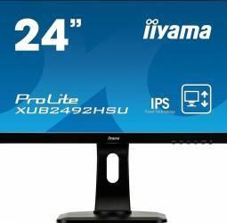 Monitor LED 23.8 Iiyama ProLite XUB2492HSU-B1 Full HD IPS 5ms Monitoare LCD LED