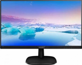 Monitor LED 23.8 Philips 243V7QDSB00 Full HD IPS 5ms GTG Monitoare LCD LED