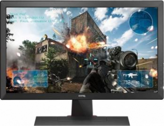 Monitor LED 24 BenQ Zowie RL2455 Full HD 1 ms Negru Ref. Monitoare LCD LED Reconditionate