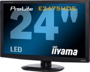 imagine Monitor LED 24 Iiyama ProLite E2475HDS-B1 Full HD HDMI prolite e2475hds