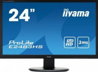 Monitor LED 24 iiyama Prolite E2483HS-B1 Full HD 2ms